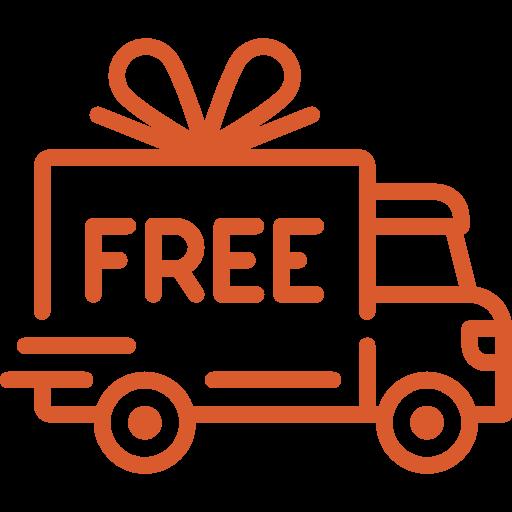 Free Shipping and returns, no minimum